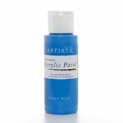2OZ ACRYLIC PAINT - Azure Blue