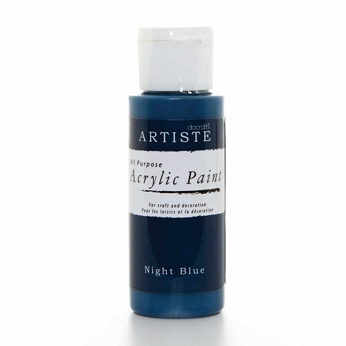 2OZ ACRYLIC PAINT - Night Blue