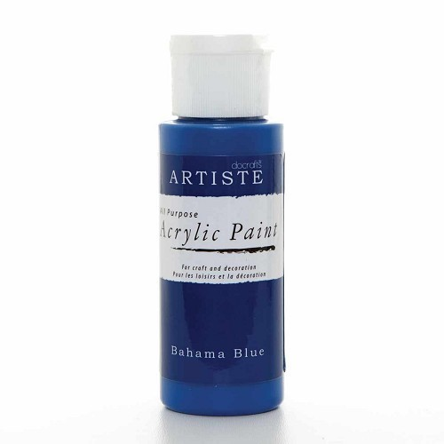 2OZ ACRYLIC PAINT - Bahama Blue