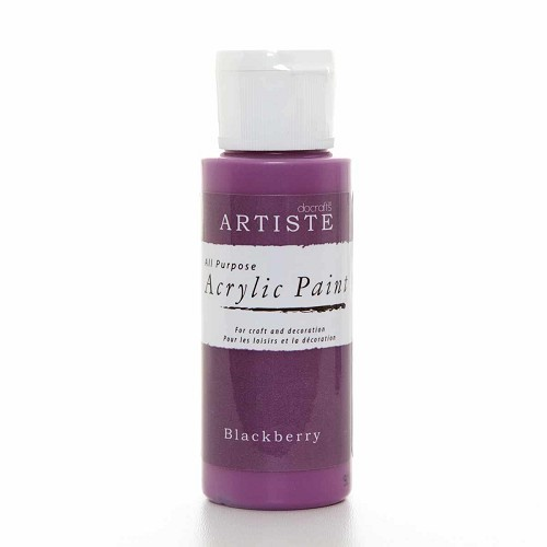 2OZ ACRYLIC PAINT - Blackberry