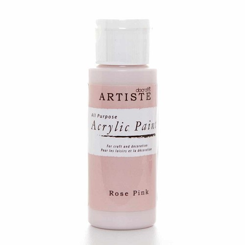 2OZ ACRYLIC PAINT - Rose Pink