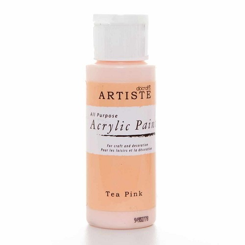 2OZ ACRYLIC PAINT - Tea Pink