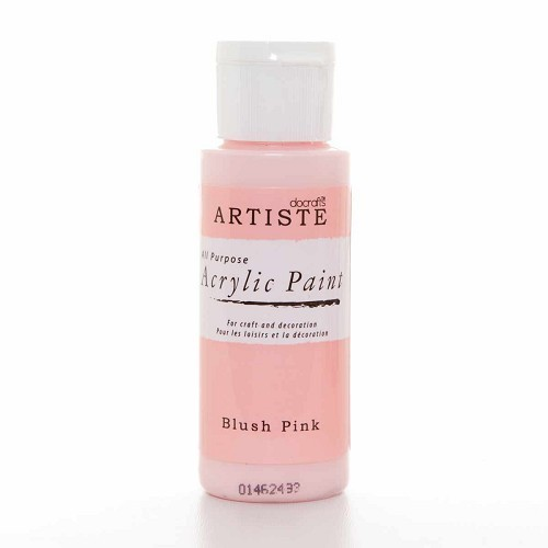 2OZ ACRYLIC PAINT - Blush Pink