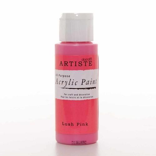 2OZ ACRYLIC PAINT - Lush Pink