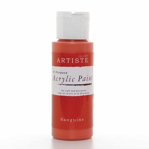 2OZ ACRYLIC PAINT - Sanguine