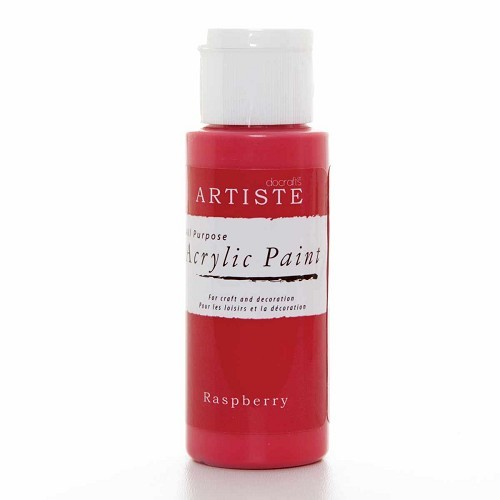 2OZ ACRYLIC PAINT - Raspberry
