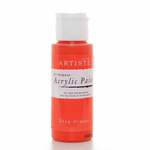 2OZ ACRYLIC PAINT - Deep Orange
