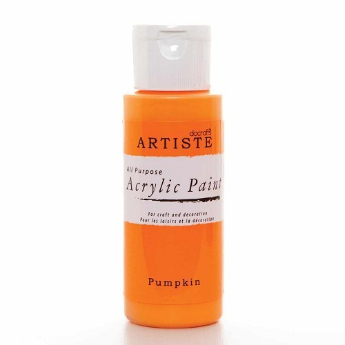 2OZ ACRYLIC PAINT - Pumpkin