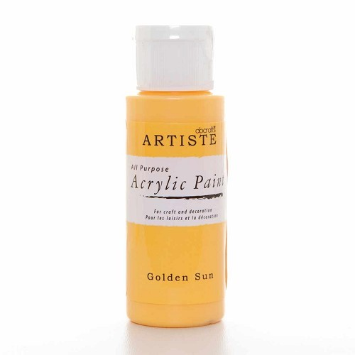 2OZ ACRYLIC PAINT - Golden Sun