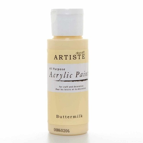 2OZ ACRYLIC PAINT - Buttermilk