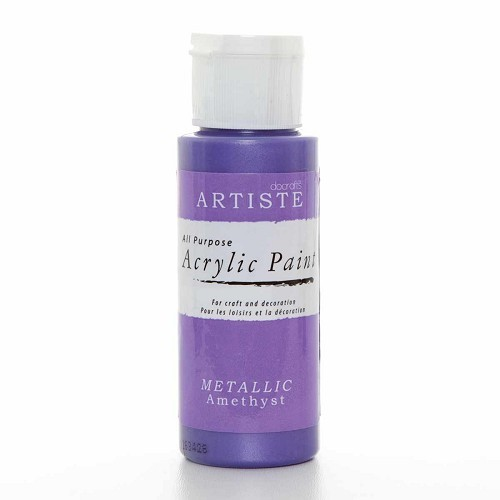 2OZ ACRYLIC PAINT - Metallic Amethyst
