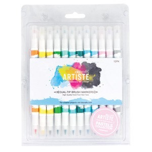 Brush Markers (12PK) - Pastel