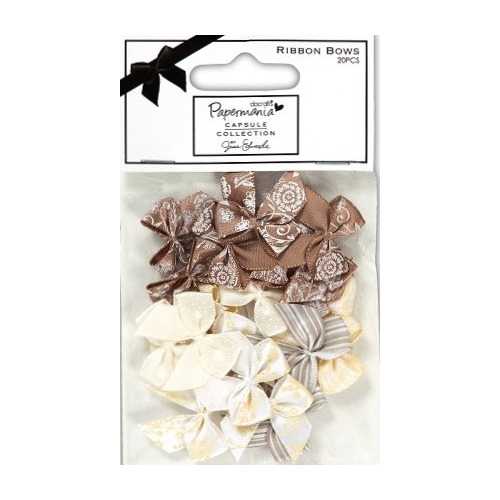 Capsule Ribbon Bows - Lincoln Linen