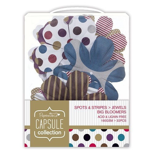 Big Bloomers (32pcs) - Capsule - Spots & Stripes Jewels