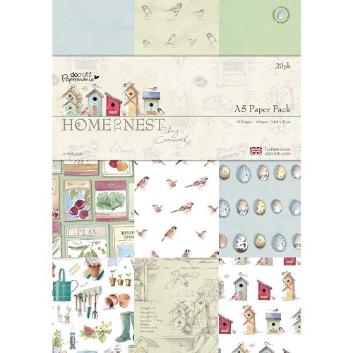 A5 Paper Pack (20pk) - Home To Nest Lucy Cromwell
