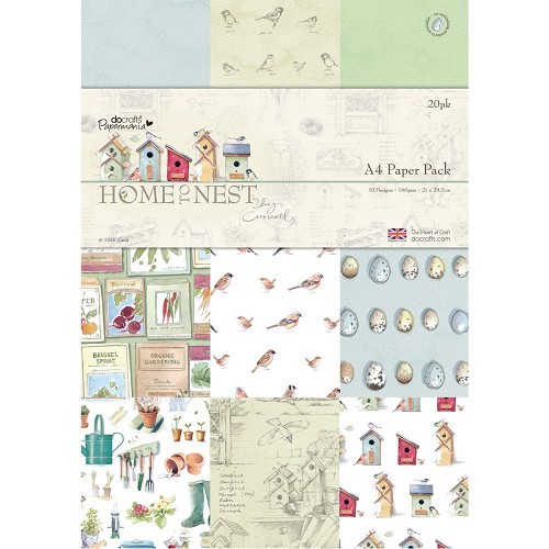 A4 Paper Pack (20pk) - Home To Nest Lucy Cromwell