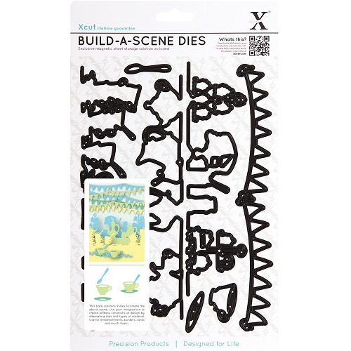 Build A Scene Dies (9pcs) - Garden Party