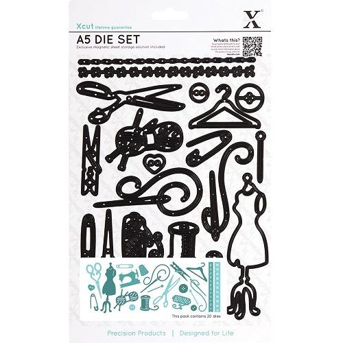A5 Die Set (20pcs) - Haberdashery