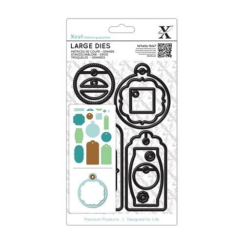 Large Dies (15pcs) - Gift Tag Set Everyday