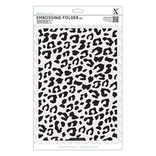 A4 Embossing Folder - Leopard Print