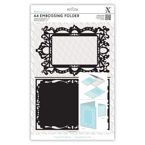 A4 Embossing Folder - Ornate Frame