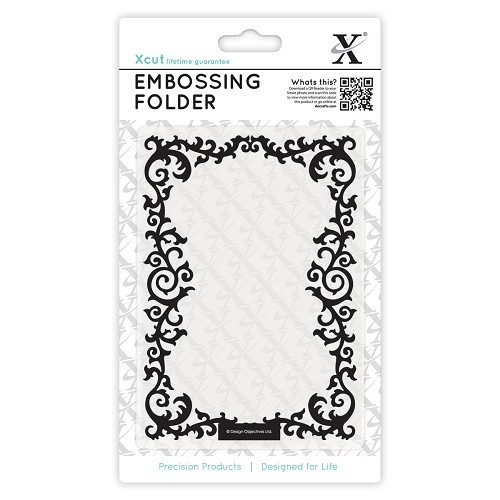 A6 Embossing Folder - Leafy Border
