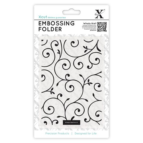 A6 Embossing Folder - Delicate Flourishes