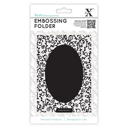 A6 Embossing Folder - Swirls