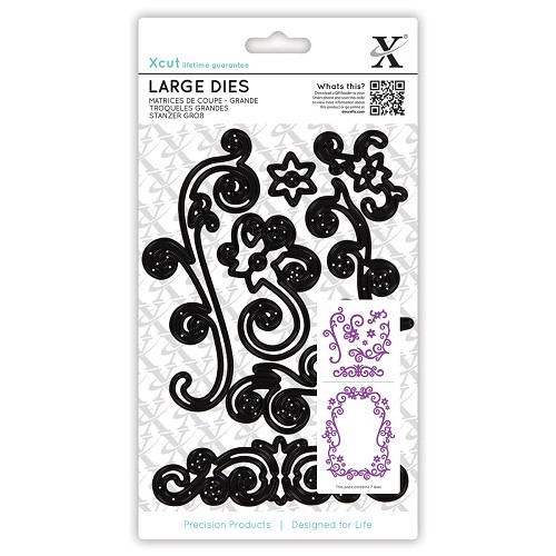 Large Dies (7pcs) - Floral Flourishes