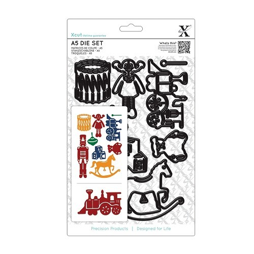 A5 Die Set (9pcs) - Toy Box
