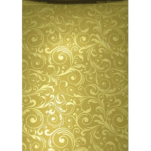 Hunkydory Christmas Mirri Card - Flourishing Swirls - Gold A4