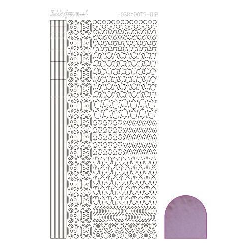 Hobbydots sticker - Mirror - Candy