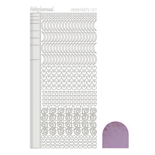 Hobbydots sticker - Mirror Candy