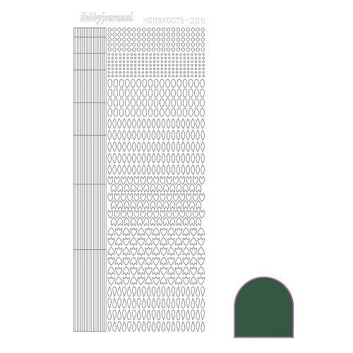 Hobbydots sticker - Mirror - Green