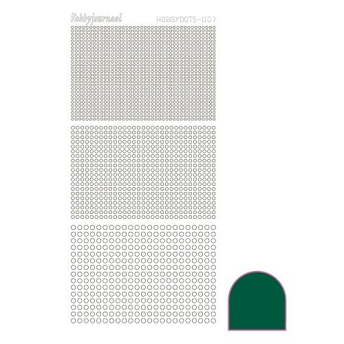 Hobbydots sticker - Adhesive - Green