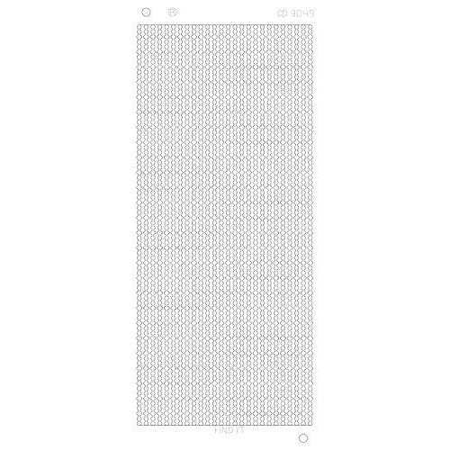 Platinum Sticker Goud - Dot-lijntjes CD3049