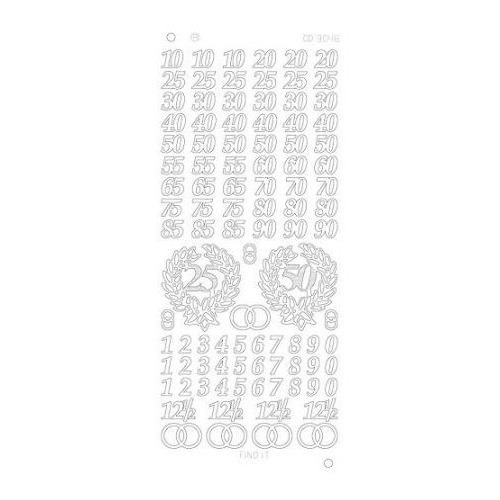 Find it CD 3048 Jubileum Platinum zilver