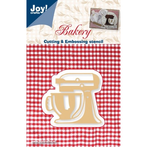 Joy! Crafts Cutting & Embossing stencil - elektrische mengkom #J