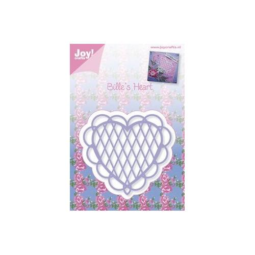 Joy! stencil Bille`s heart