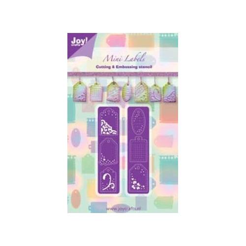 Joy! stencil labels #JUN