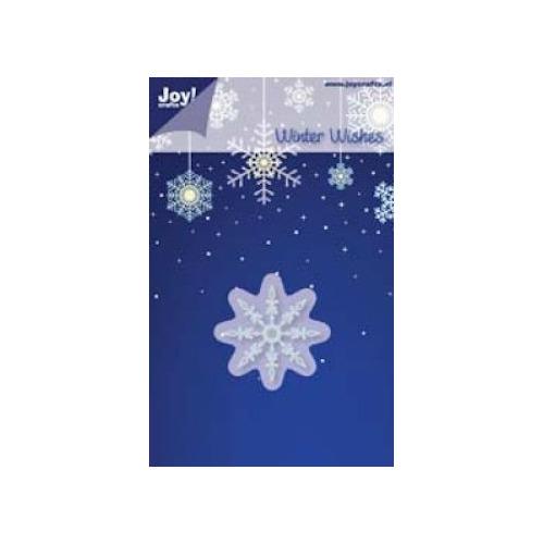 Joy! stencil ijskristal 2 - 40 mm #JUN