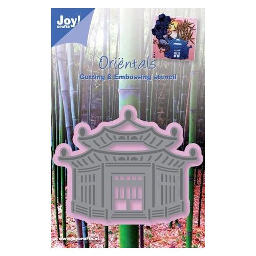 Joy! stencil tempel #MEI13