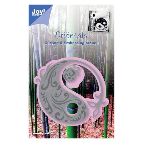 Joy! stencil ying-yang #MEI13