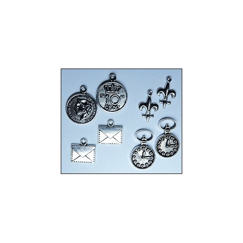 Set charms vintage men #APR13