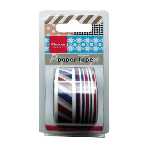 Paper Tape Marianne Design - Red/white/blue PT2313