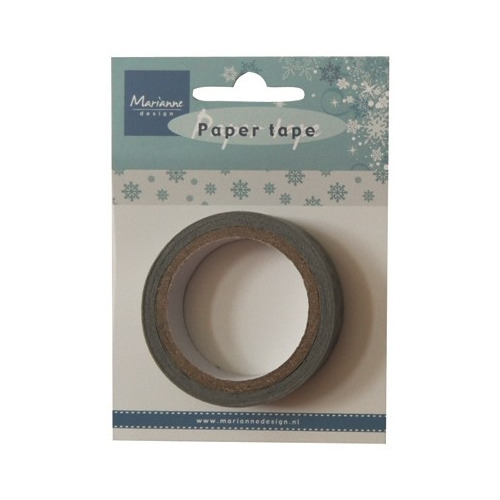 Marianne D Decoration Paper Tape - Ice Chrystals - PT2321