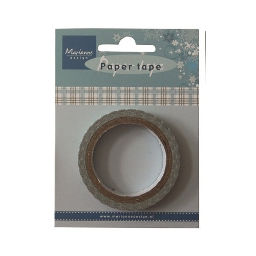 Marianne D Decoration Paper Tape - Blue Plaid - PT2322