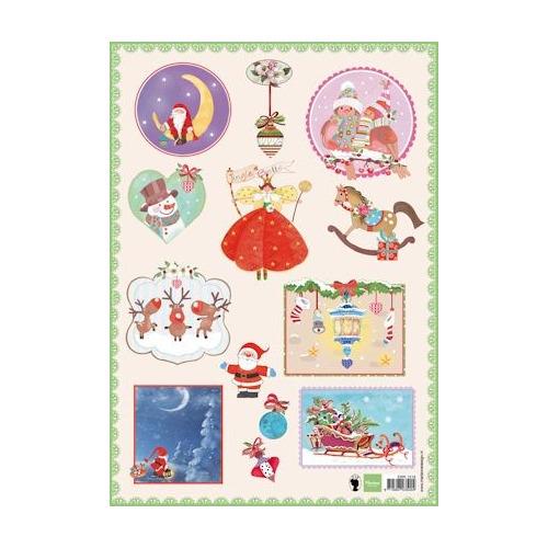 A4 knipvel Jingle bells 2 #AUG13