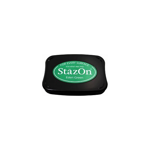 Tsukineko StazOn Eden Green Solvent Ink Pad (SZ-53)