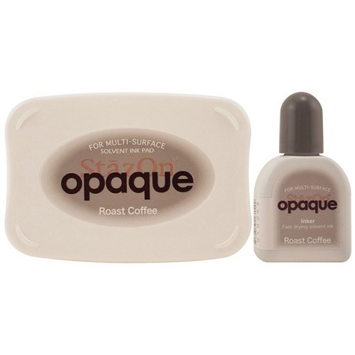 Stazon inktkussen set opaque Roast coffe SZ-000-154